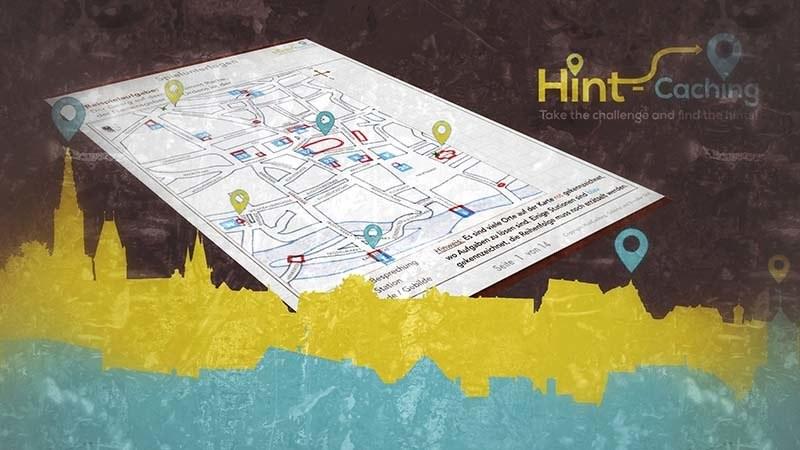 Hint-Caching Stadtrallye mit Schauspiel